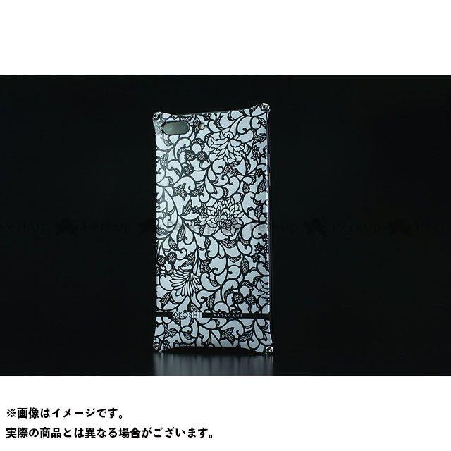 GILD design 小物・ケース類 GOK-280AB OKOSHI-KATAGAMI アラベスク for iPhone 8Plus/7Plus(ブラック) GILD design(mobile item)