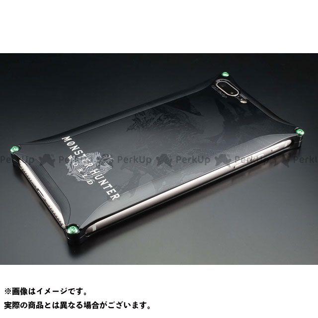GILD design 小物・ケース類 GI-MON-3 MONSTER HUNTER: WORLD Solid for iPhone 8Plus/7Plus リオレウス ブラック GILD design(mobile item)