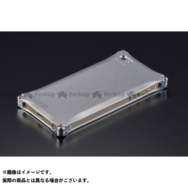 GILD design 小物・ケース類 GI-260S ソリッド for iPhone SE/5s/5(シルバー) GILD design(mobile item)