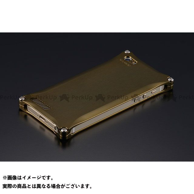 GILD design 小物・ケース類 GI-260T ソリッド for iPhone SE/5s/5(チタン) GILD design(mobile item)