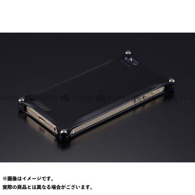 GILD design 小物・ケース類 GI-260B ソリッド for iPhone SE/5s/5(ブラック) GILD design(mobile item)