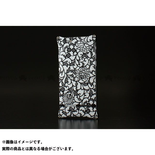GILD design 小物・ケース類 GOK-240AB OKOSHI-KATAGAMI アラベスク for iPhone 6/6s(ブラック) GILD design(mobile item)