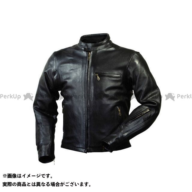 ラフアンドロード ジャケット RA5031 ベンテッドライディングレザージャケット(ブラック) サイズ:M ラフ&ロード