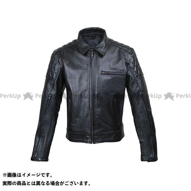 ラフアンドロード ジャケット RA5032 ベンテッドシングルレザージャケット(ブラック) サイズ:L ラフ&ロード