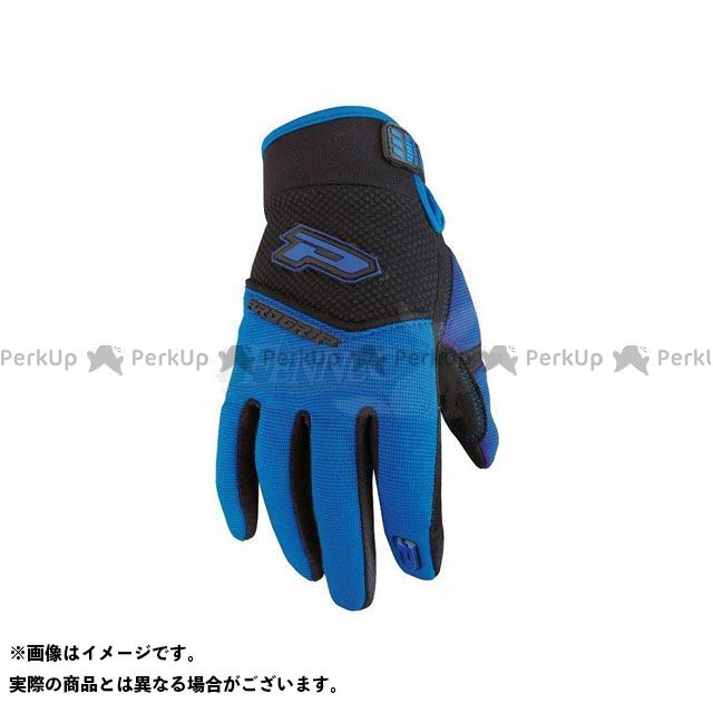PROGRIP ライディンググローブ クロス グローブ 1(ブルー) M プログリップ