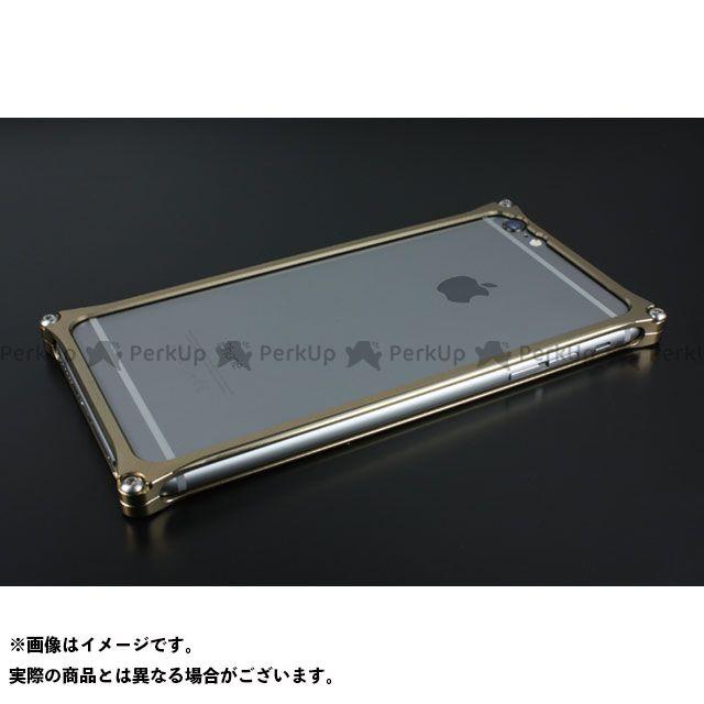 GILD design 小物・ケース類 GI-252T ソリッドバンパー for iPhone 6 Plus/6s Plus(チタン) GILD design(mobile item)