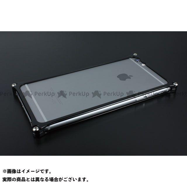 GILD design 小物・ケース類 GI-252B ソリッドバンパー for iPhone 6 Plus/6s Plus(ブラック) GILD design(mobile item)