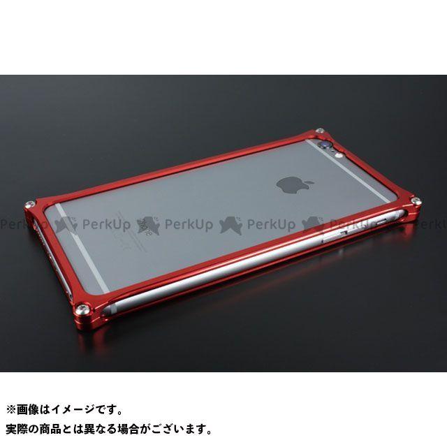 GILD design 小物・ケース類 GI-252R ソリッドバンパー for iPhone 6 Plus/6s Plus(レッド) GILD design(mobile item)