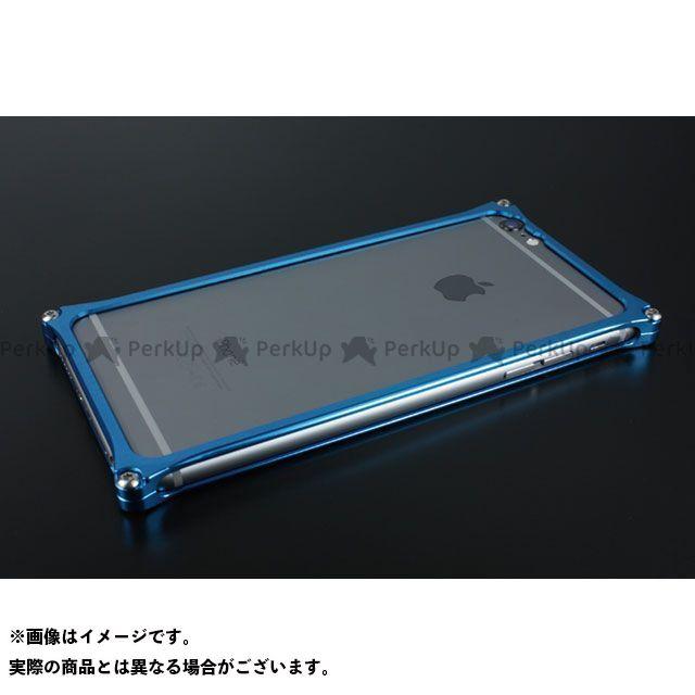GILD design 小物・ケース類 GI-252BL ソリッドバンパー for iPhone 6 Plus/6s Plus(ブルー) GILD design(mobile item)