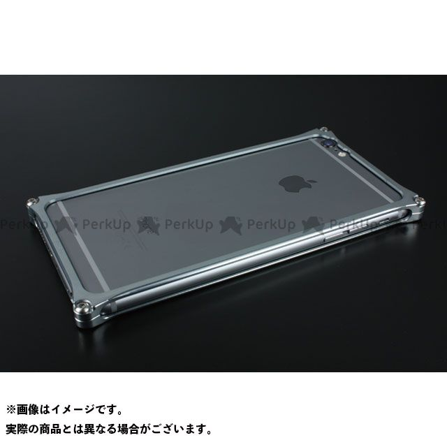 GILD design 小物・ケース類 GI-252GR ソリッドバンパー for iPhone 6 Plus/6s Plus(グレー) GILD design(mobile item)