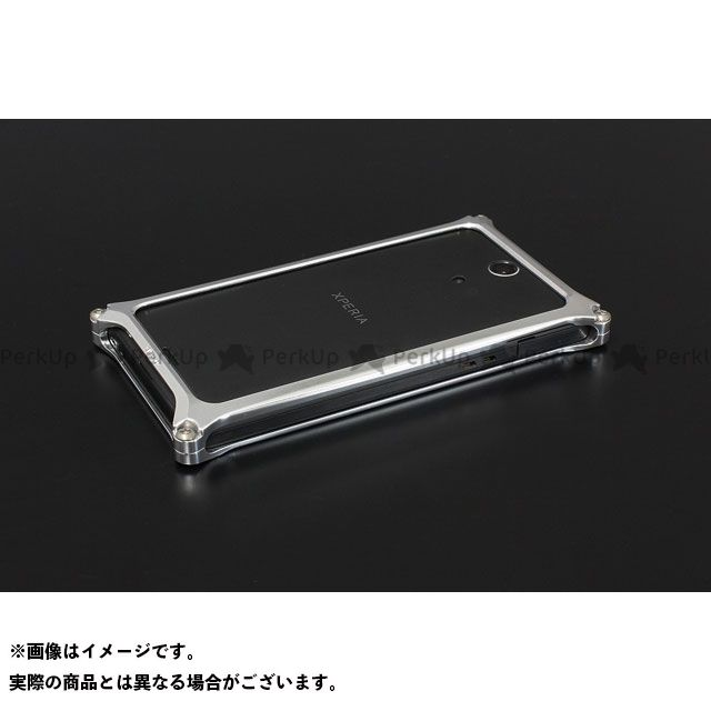 GILD design 小物・ケース類 GX-108P ソリッドバンパー for Xperia A SO-04E(ポリッシュ) GILD design(mobile item)