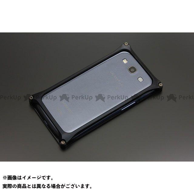 GILD design 小物・ケース類 GG-104B ソリッドバンパー for GALAXY S3/S3α(ブラック) GILD design(mobile item)