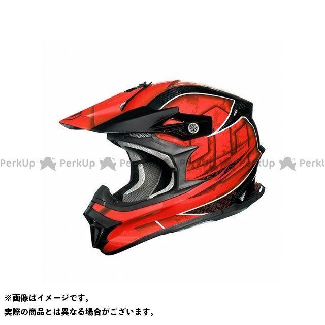 ジーロット オフロードヘルメット MadJumper II(マッドジャンパー2) CARBON HYBRID GRAPHIC RED S ZEALOT