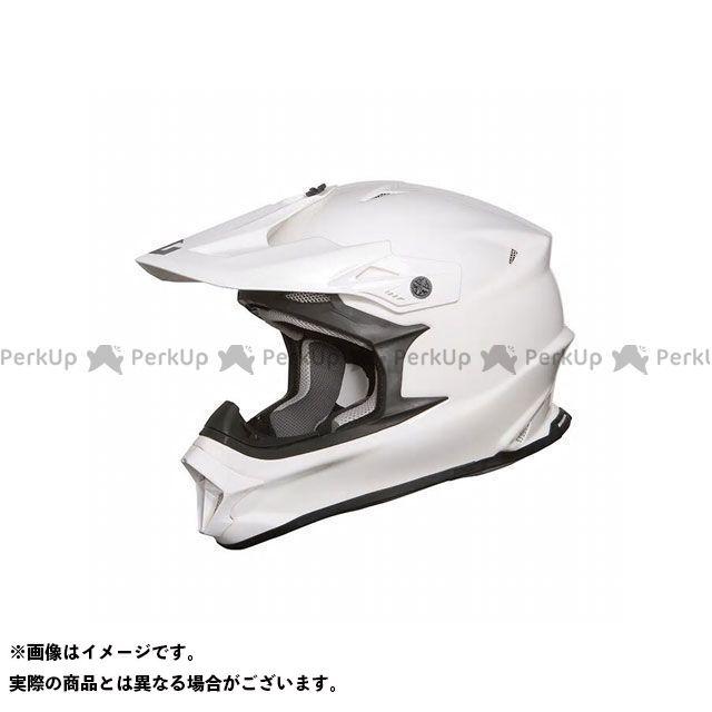 ジーロット オフロードヘルメット MadJumper II(マッドジャンパー2) SOLID WHITE サイズ:M ZEALOT