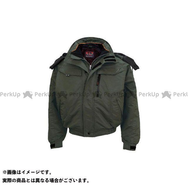 TS DESIGN ジャケット 防寒ブルゾン(グリーン) L TSデザイン
