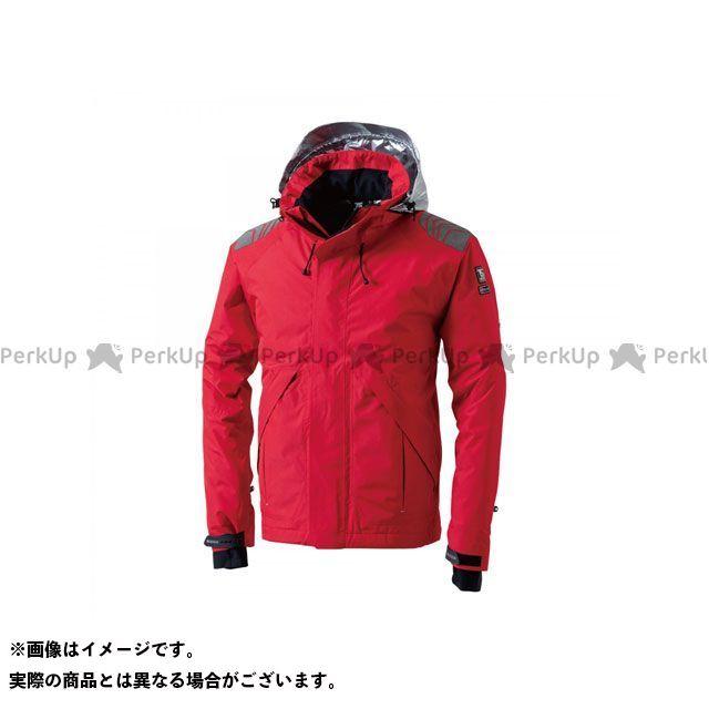 TS DESIGN ジャケット メガヒートES防水防寒ジャケット(レッド) サイズ:L TSデザイン