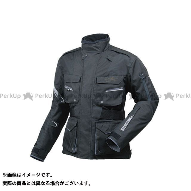 ラフアンドロード ジャケット RR7102 ゴアテックス(R)SSFツアラージャケットFP カラー:ブラック サイズ:M ラフ&ロード