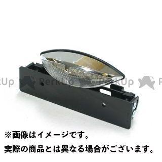 ガレージティーアンドエフ 汎用 テール関連パーツ シーシーバー用 グラステールランプ(クリアーレンズ仕様)LED
