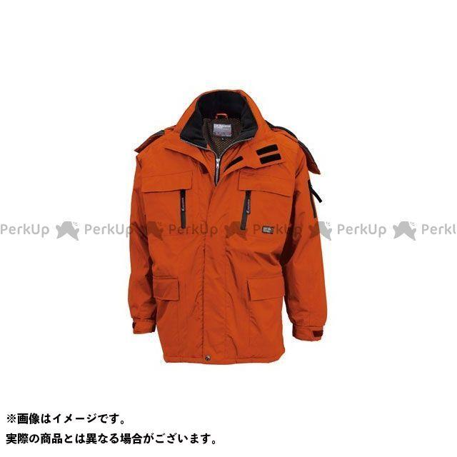 TS DESIGN ジャケット 防水防寒コート(オレンジ) サイズ:6L TSデザイン