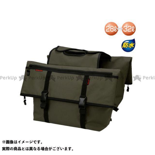 ラフアンドロード ツーリング用バッグ RR9113 AQA DRY サドルバッグ カラー:オリーブ ラフ&ロード