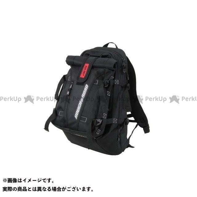 ラフアンドロード ツーリング用バッグ RR9406 ダブルバックパック(ブラック) ラフ&ロード