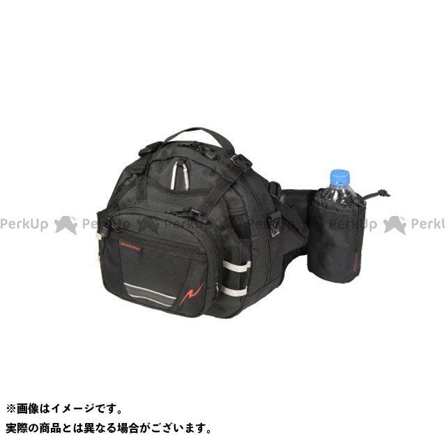 ラフアンドロード ツーリング用バッグ RR9506 ラフヒップパック(ブラック) ラフ&ロード