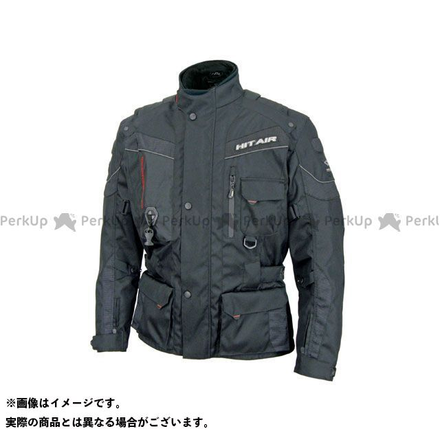 【エントリーで最大P21倍】ヒットエアー ジャケット EU-6 エアバッグジャケット カラー:ブラック サイズ:M hit air