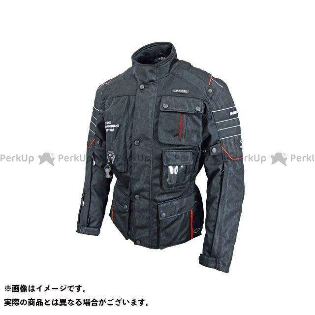 ヒットエアー ジャケット Motorrad-2 Mesh カラー:ブラック/レッド サイズ:XL hit air