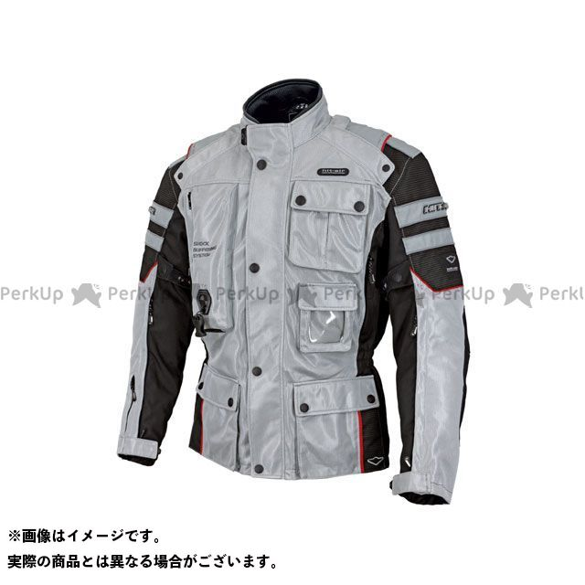 ヒットエアー ジャケット Motorrad-2 Mesh カラー:ライトグレー サイズ:2XL hit air