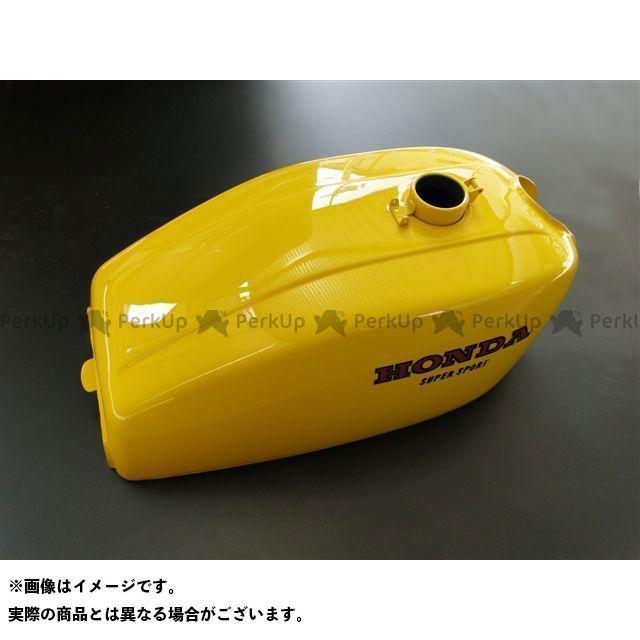 【エントリーで更にP5倍】ピーエムシー CB400F タンク関連パーツ ペイント済フューエルタンク(イエロー) CB400F PMC