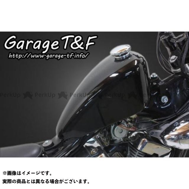 ガレージティーアンドエフ ビラーゴ250(XV250ビラーゴ) タンク関連パーツ ハイマウントスリムスポーツスタータンクキット(Ver I) ガレージT&F