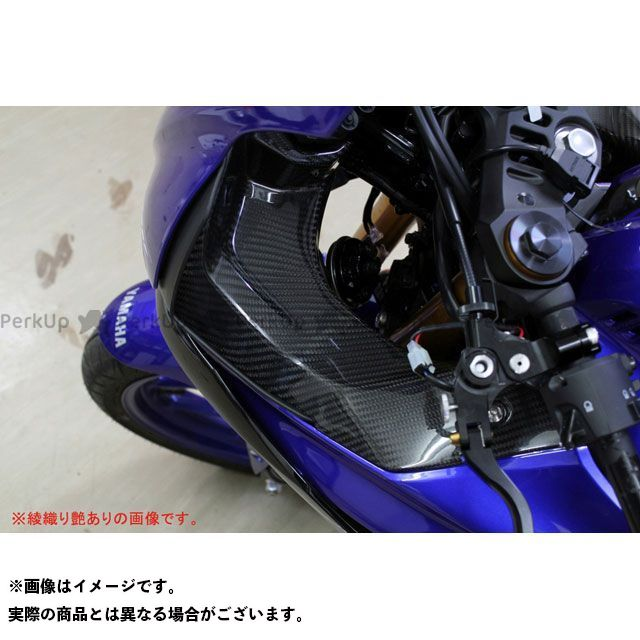 【特価品】エスエスケー YZF-R25 YZF-R3 その他外装関連パーツ インナーサイドパネル 左右セット ドライカーボン 仕様:平織り艶あり SSK