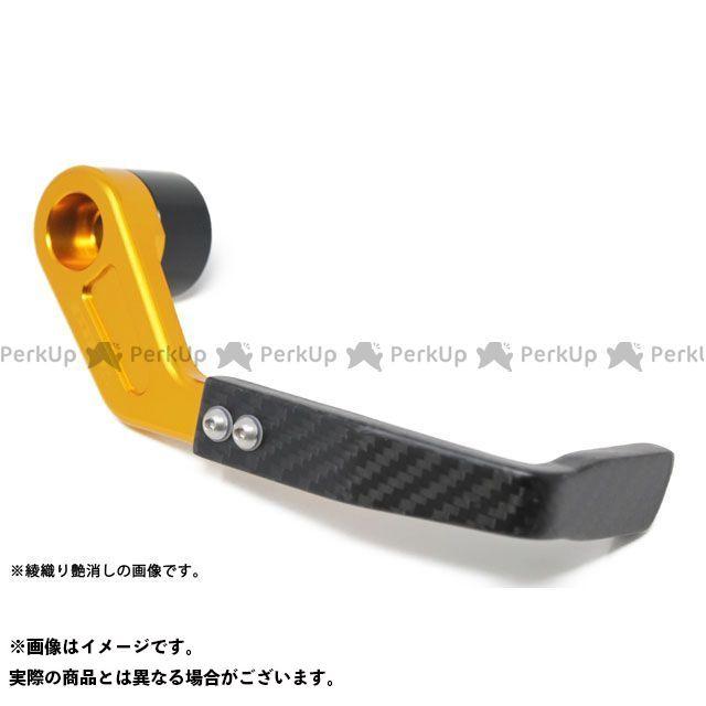 【特価品】エスエスケー GSX-R1000 レバー レバーガード 右側 SUZUKI M12 アルミ部分:ゴールド カーボン部分:綾織り艶消し SSK