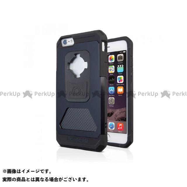 ロックフォーム 小物・ケース類 iPhone 6 Plus アルミニウムケース カラー:ブラックアルマイト Rokform