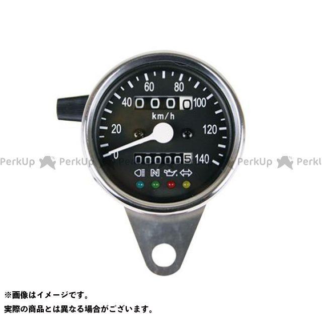 【エントリーで最大P23倍】GOODS スピードメーター 機械式スピードメーターφ60 インジゲーターランプ付 1:4 グッズ