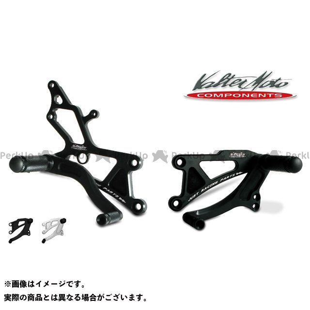 【無料雑誌付き】Valter Moto components ニンジャZX-6R バックステップ関連パーツ バックステップ タイプ1(ブラック) バルターモトコンポーネンツ