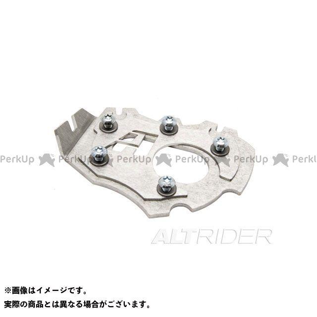 【無料雑誌付き】ALTRIDER R1200GS スタンド関連パーツ サイドスタンドエンド BMW R1200GS LC (2014) カラー:シルバー アルトライダー