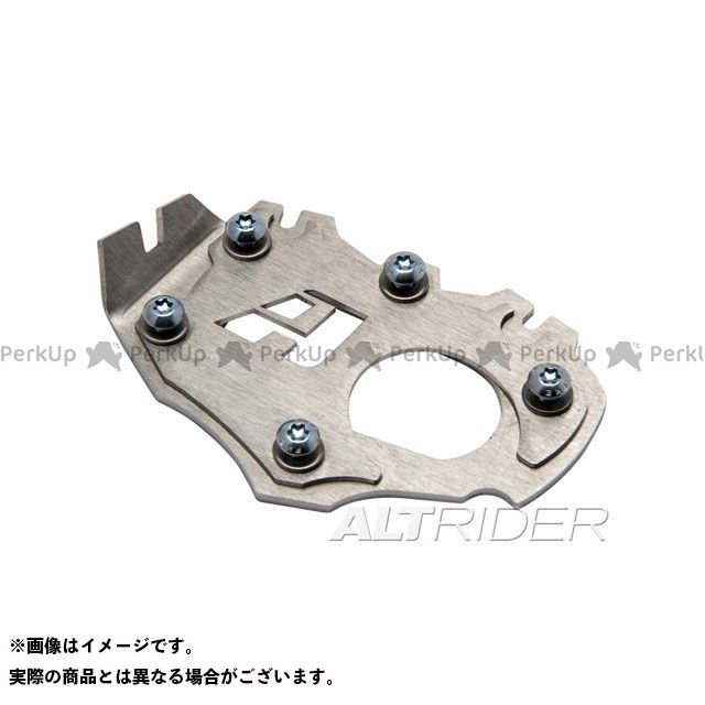 【無料雑誌付き】ALTRIDER R1200GS スタンド関連パーツ サイドスタンドエンド BMW R1200GS LC ローダウン仕様 カラー:シルバー アルトライダー