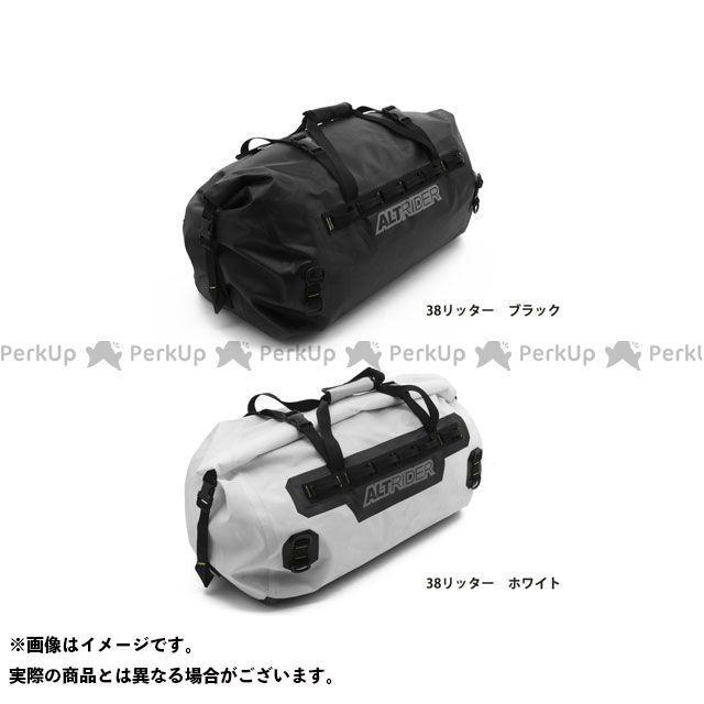 ALTRIDER ツーリング用バッグ ドライバッグ SYNCH(シンク) Lサイズ 38リッター カラー:ブラック アルトライダー