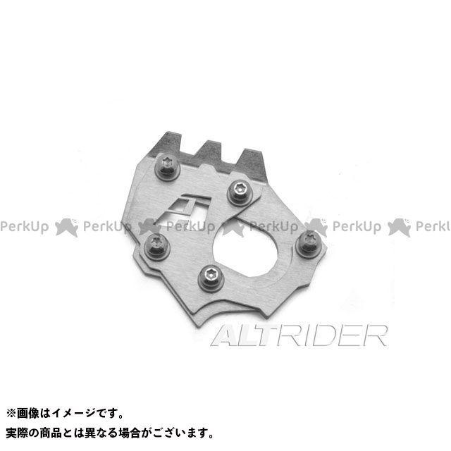 【無料雑誌付き】ALTRIDER 1290スーパーアドベンチャー スタンド関連パーツ サイドスタンドエンド KTM 1290 Super Adventure カラー:シルバー アルトライダー