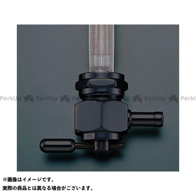 送料無料 PINGEL 汎用 タンク関連パーツ クロームボディ シングルアウト リザーブ付き 6000シリーズ(ヘックスデザイン/クロームブラック)