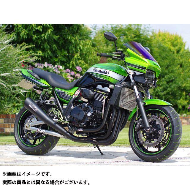 【エントリーで最大P21倍】Grazy ZRX1100 ZRX1200ダエグ ZRX1200R マフラー本体 LOUDEX(ラウデックス) ステンレス エキゾースト レーシングモデル カラー:ブラック 付属バッフル:サイレント グレイジー