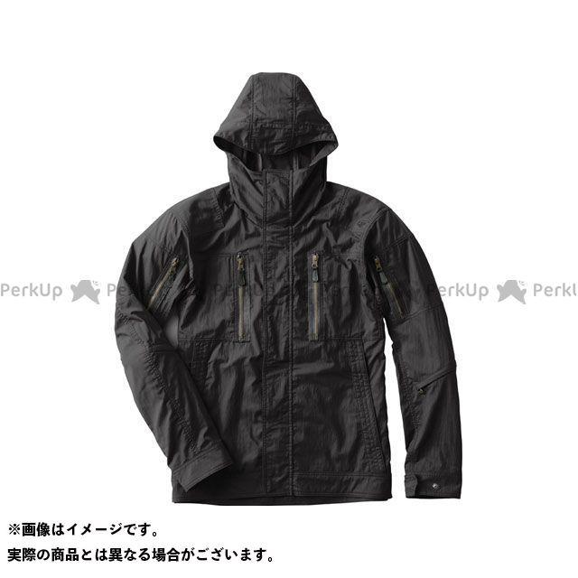 【特価品】GOLDWIN ジャケット 2020春夏モデル GSM22002 GWM X-OVER クロスオーバーフーデッドジャケット(ブラック) サイズ:XXL ゴールドウイン