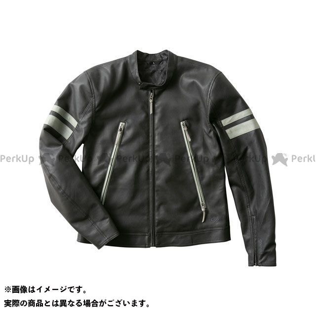 【特価品】GOLDWIN ジャケット 2020春夏モデル GSM22003 GWM シンセティックレザージャケット(ブラック) サイズ:S ゴールドウイン