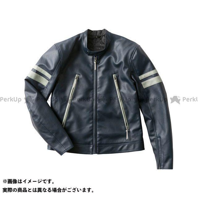 【特価品】GOLDWIN ジャケット 2020春夏モデル GSM22003 GWM シンセティックレザージャケット(ネービー) サイズ:M ゴールドウイン