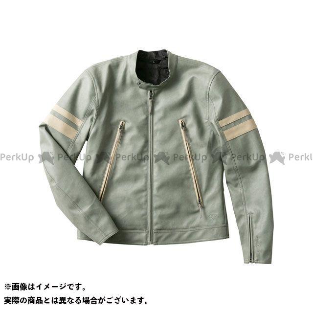 【特価品】GOLDWIN ジャケット 2020春夏モデル GSM22003 GWM シンセティックレザージャケット(セージ) サイズ:XL ゴールドウイン