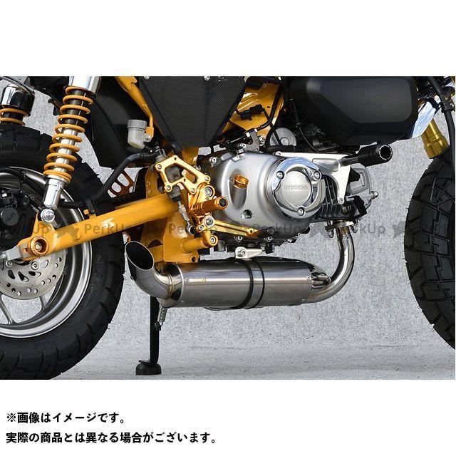 【エントリーで更にP5倍】YAMAMOTO RACING マフラー本体 18~モンキー125 SPEC-A DOWN TYPE-1 ヤマモトレーシング