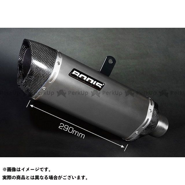 BODIS その他のモデル マフラー本体 P-TEC II スリップオンマフラー フル チタニウム for RSV 4R(09-)|ARSV4-006 ボディス