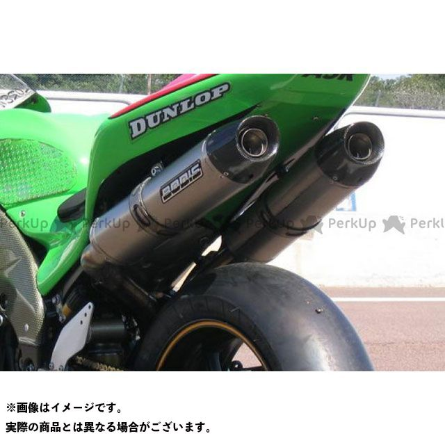 BODIS ニンジャZX-10R ニンジャZX-10RR マフラー本体 スリップオンマフラー セット Y-パイプ ステンレス/フルチタン Oval Q2C EU公道走行認可 for ZX-10R(06-07)|KZX10R-038 ボディス