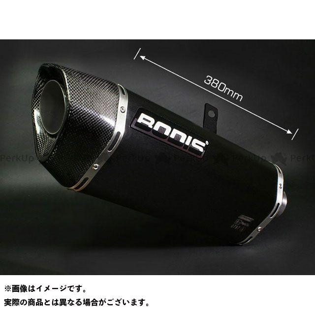 BODIS ZZR1400 マフラー本体 Penta-Tec スリップオンレーシングマフラー 4in2(キャタライザーなし)ステンレスブラック for ZZR1400|KZZR1400-010 ボディス